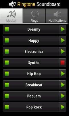 دانلود برنامه اندروید Ringtones Soundboard - چارخونه